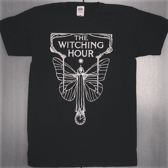 Items similar to the witching hour t shirt on etsy for One hour t shirts