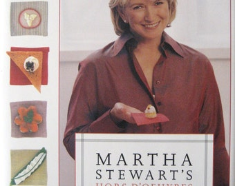 Martha Stewart's Hors D-oeuvres Handbook  ~ A Must Have !!!