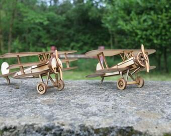 Bristol Bulldog, Fokker Tri, Spad SX 111 & Albatros DV Model Planes