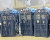 TARDIS Chocolate (inspired by Doctor Who)