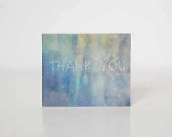 Cosmic Thank You Card