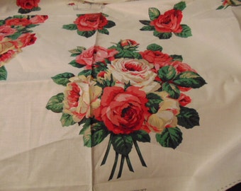 Wearable Art , Pattern Chic ,Cabbage Rose Fabric, Cranston Cotton, Polished Fabric ,Country Elegance