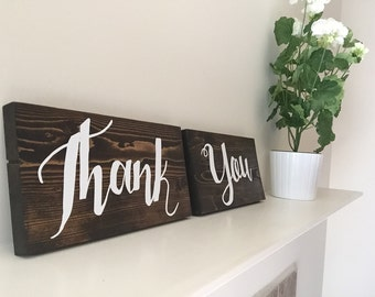 Wedding Thank You Signs - Diana Collection