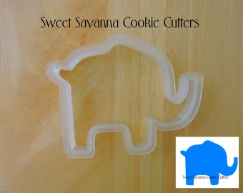 Elephant Cookie Cutter No 2