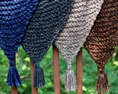 Outlander Inspired Claire's Shawl Cowl Shoulder Wrap Chunky Knit featuring sizes xs-1x and 4 colors KNITTING PATTERN - Beginner