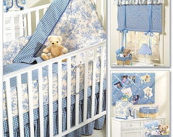 McCall's Pattern M4328 Baby Room Essentials