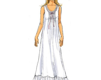 Butterick Pattern B5792 Misses' Top, Gown and Pants