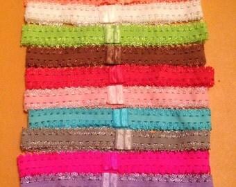 Lace headbands, Elastic headbands, Girls headbands, Toddler headbands, Infant headbands, Stretchy headbands