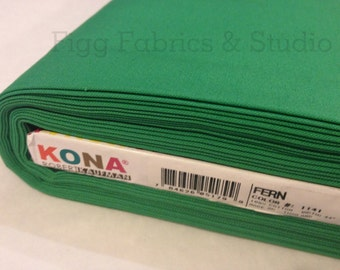 KONA Cotton in Fern (Color 1141)