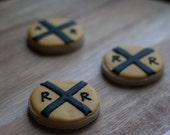 Railroad Crossing Cookies