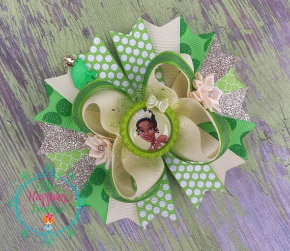 Princess Tiana Hair: Princess Tiana Hair Bow The Princess And By