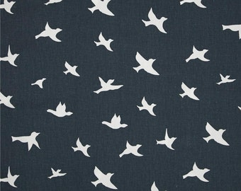 Premier prints cotton fabric air traffic navy and white or for Airplane print cotton fabric