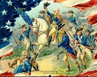 Tucks George Washington Series 1907 Postcard