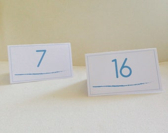 10 WEDDING TABLE NUMBERS