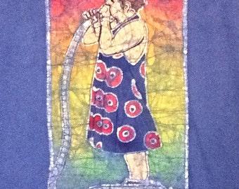 Phish Fishman Custom Batik Tshirt