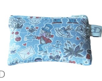 Coin Purse in Alice in Wonderland Liberty print