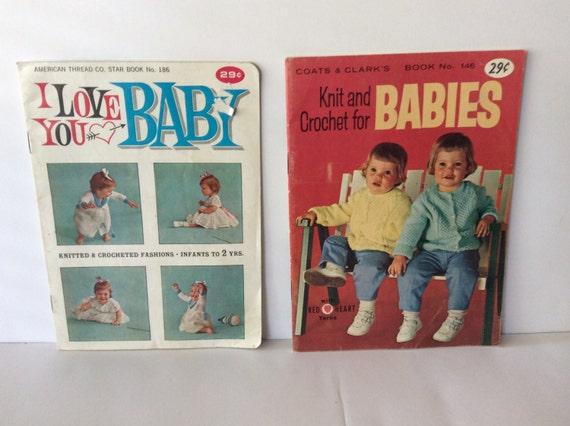 Knitting Books For Babies : Coats clark knitting crochet books for babies baby shower