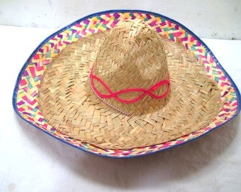 Mexican, Sombrero, Straw, Hat, Beach, Summer, Fishing, Vacation, Sun, Tall, Womens, Mens, Panama, Brim, Southern, Sunhat, Gardening, Country