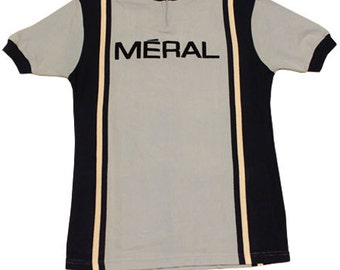 70's vintage meral cycle jersey made in France