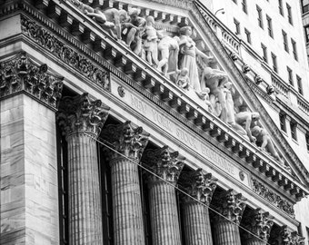 "Finance Art, Wall Street Art, ""The Exchange"""