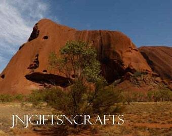Uluru Ayers Rock  Australia Digital Downloadable