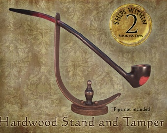 Pipe Stand and Tamper