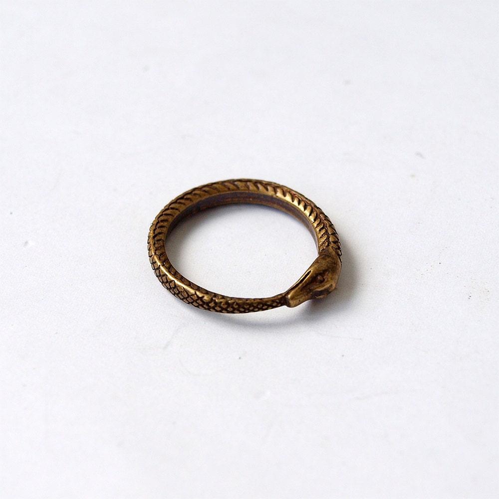 snake eat ring snake ring snake jewelry ring by