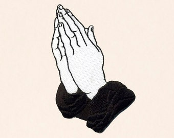 Praying Hands Patch - 6 God Edition
