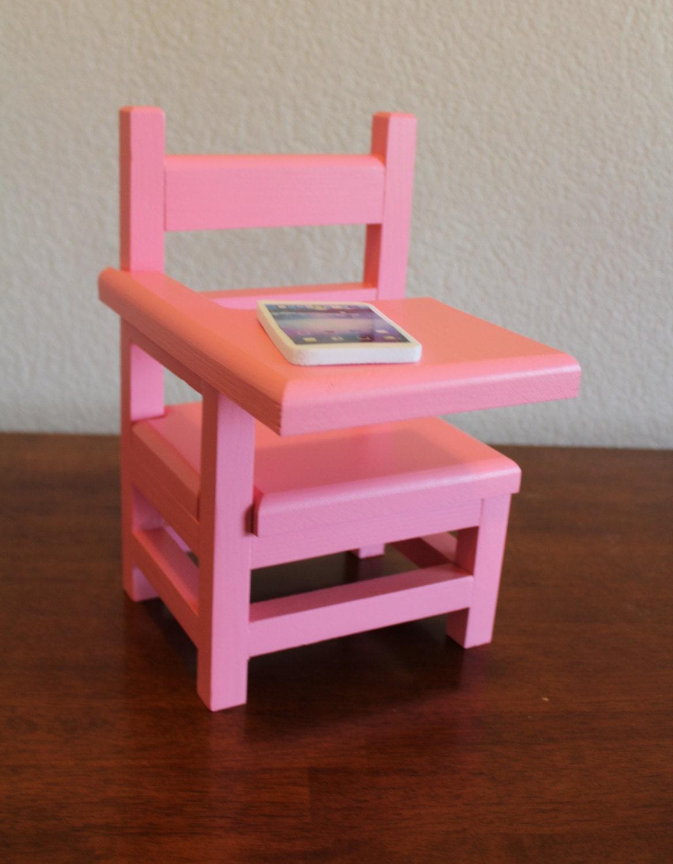 AG Doll Furniture School Desk Pink by CraftsbyDawnandBob