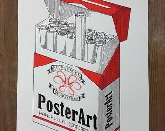 Classic Red Taste - Handpulled Silkscreen Poster