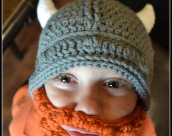Viking bearded hats