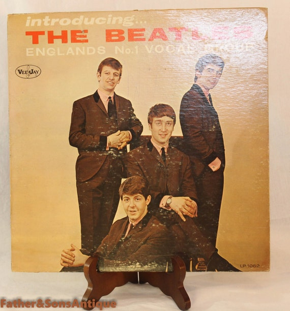 Rare Beatles First Album Vee Jay Vinyl Lp Album