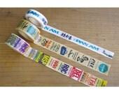 Pan Am Series Traveler's Factory Masking Tape Washi Tape
