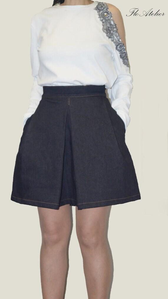 denim dress denim skirt jean skirt casual dress by