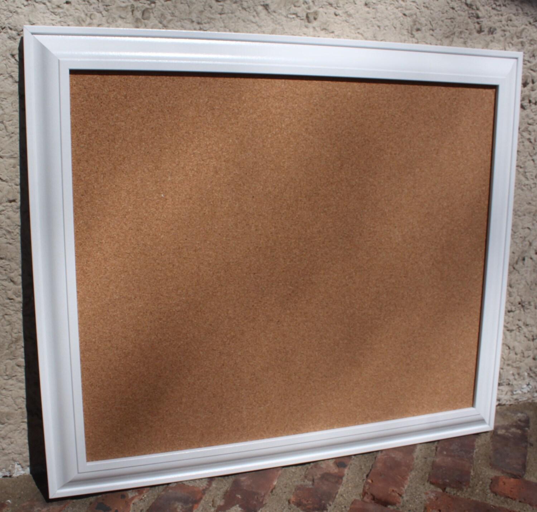 Framed Cork Board Bulletin Board Memo Board White Framed