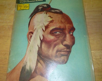Classics Illustrated #4, The Last of the Mohicans by James Fenimore Cooper
