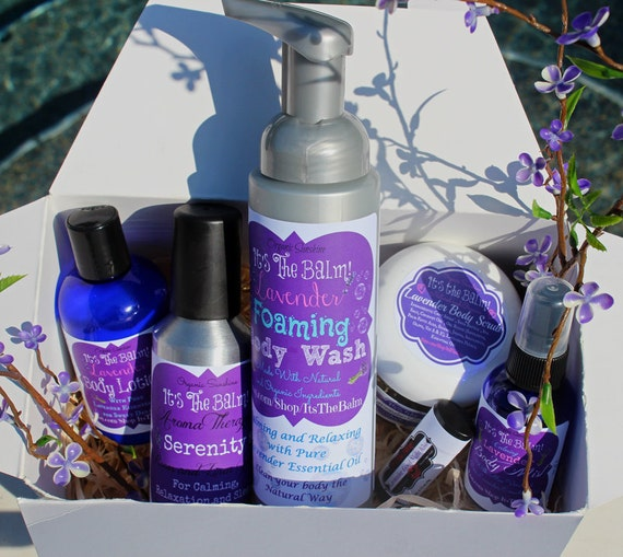 Lavender Mother's Day Gift Box