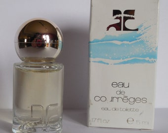 WATER of COURREGES perfume miniature