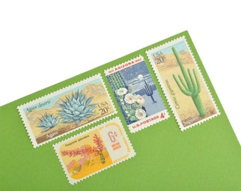 Arizona Stamp Set - Vintage postage for your party, wedding or every day mailings! Mint! Enough to mail 8 letters.