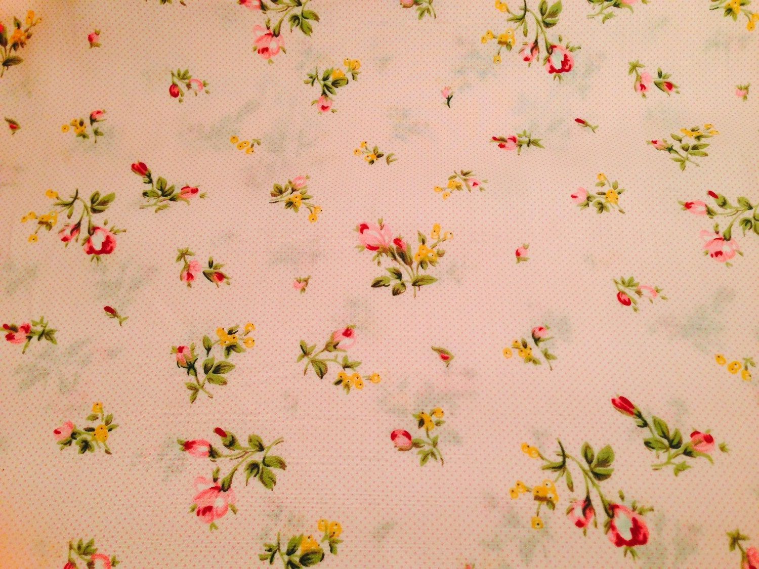 Floral cotton fabric nursery fabric pink floral by for Floral nursery fabric