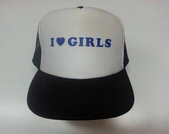 I LOVE GIRLS (Torgeir Lien's Hat from Lillyhammer)
