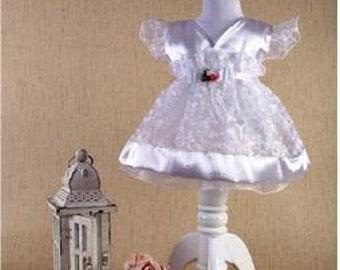 Baby girl white princess dress set, Baby girl whit baptism dress, Baby girl Christening Dress