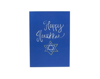 Happy Hanukkah Star of David