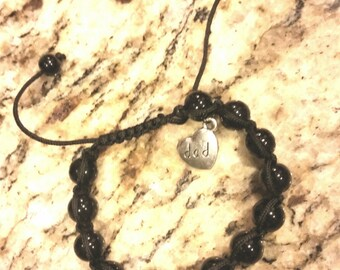 Shamballa bracelet for dad