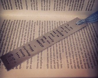 Bespoke bookmark