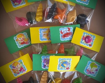 Space Party Space Favors Astronaut Crayons Rocket Ship