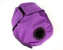 Leak Proof Dog diaper for girl dogs and puppies, Diaper for female dogs Solid Purple