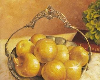 Golden Apples Wall Hanging