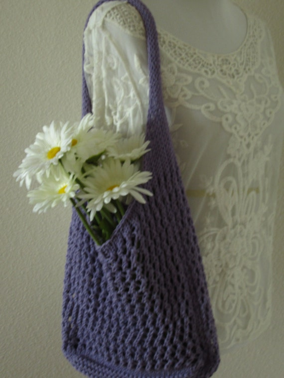 Knitting Pattern Mesh Bag : Market Bag Knit Market Bag Mesh Market Bag Cotton Shopping