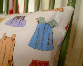Cushion in 'Oliver + S Cape Ann for Moda' fabric